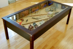 fishing table