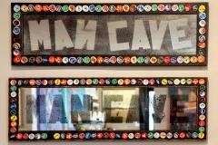 """Man Cave"" mirror"